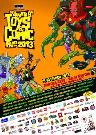 9th Jakarta Toys & Comic Fair 2013