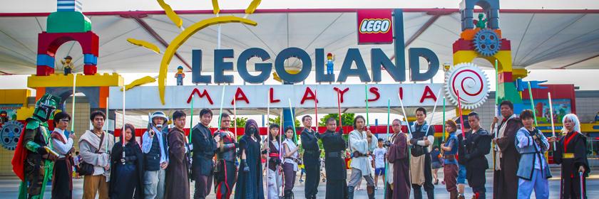 FightSaber at Legoland Malaysia