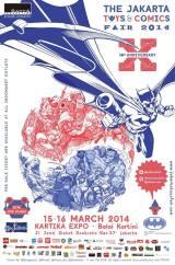 Jakarta Toys & Comic Fair2014